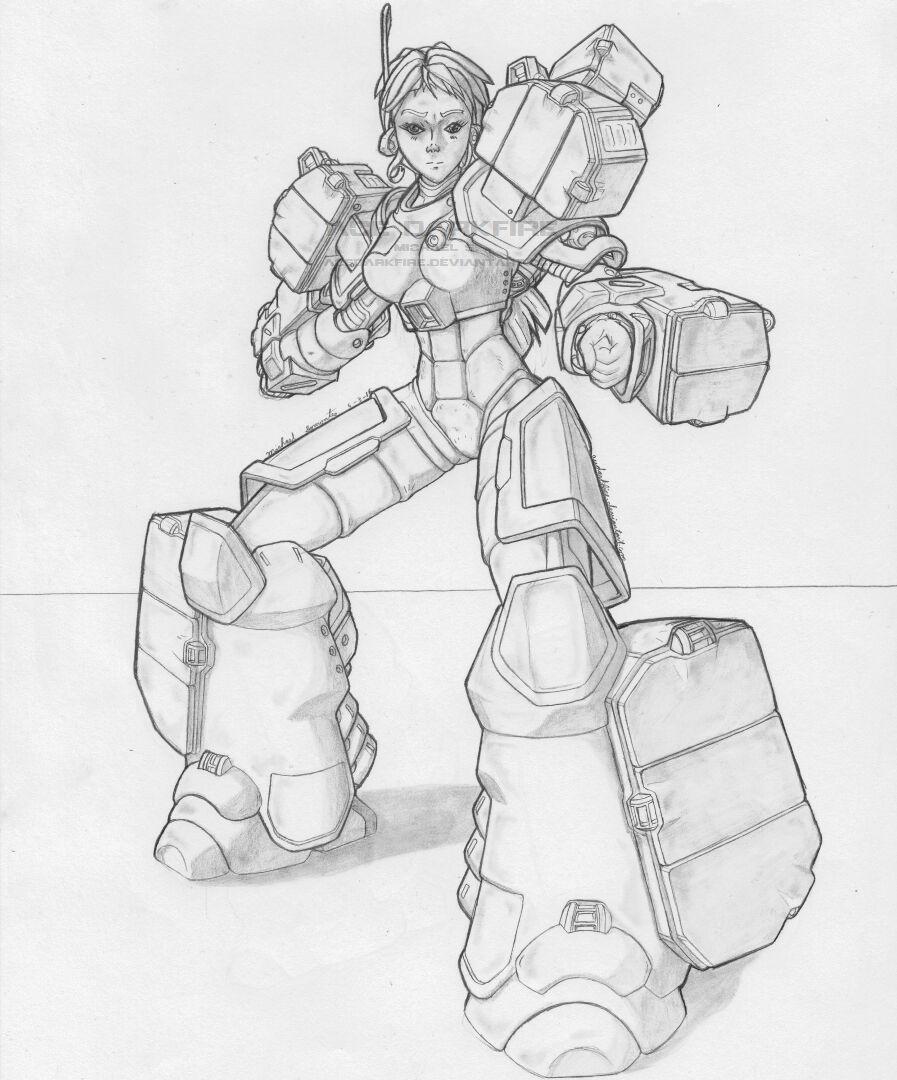 MekGirl: Archer 2 by AceDarkfire