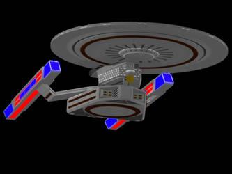 Soldier-class StarShip 2 by AceDarkfire