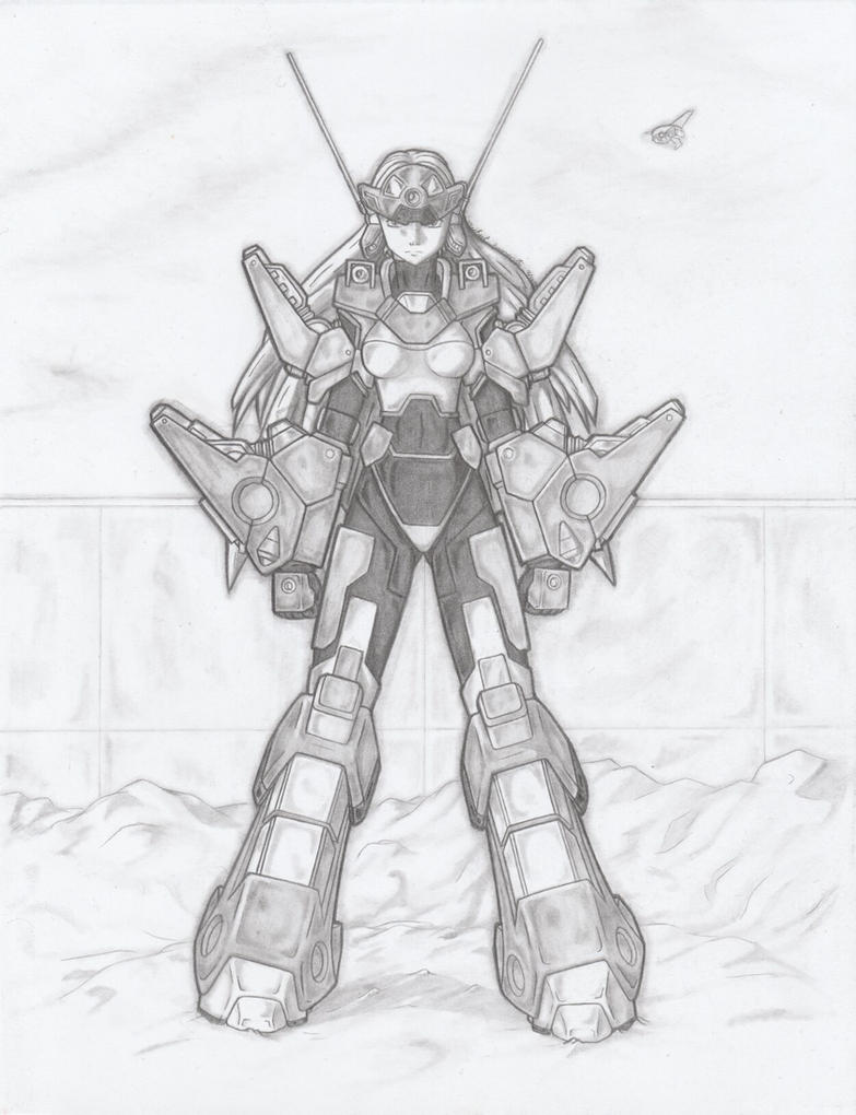 MekGirl: Victory (Image 3) by AceDarkfire