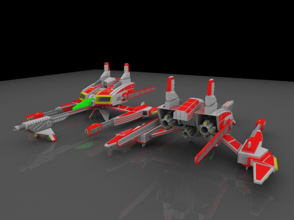 VX-X Vermillion Prev.Render 3 by AceDarkfire