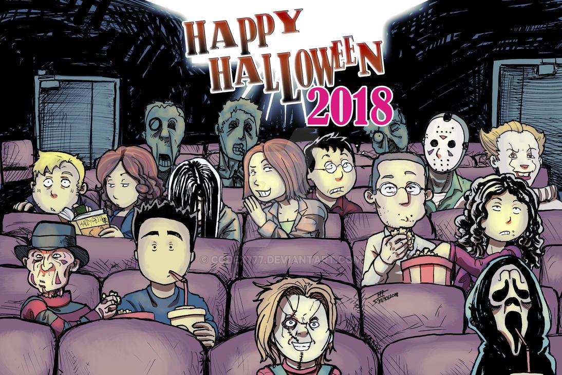 Happy Halloween 2018 by codex777