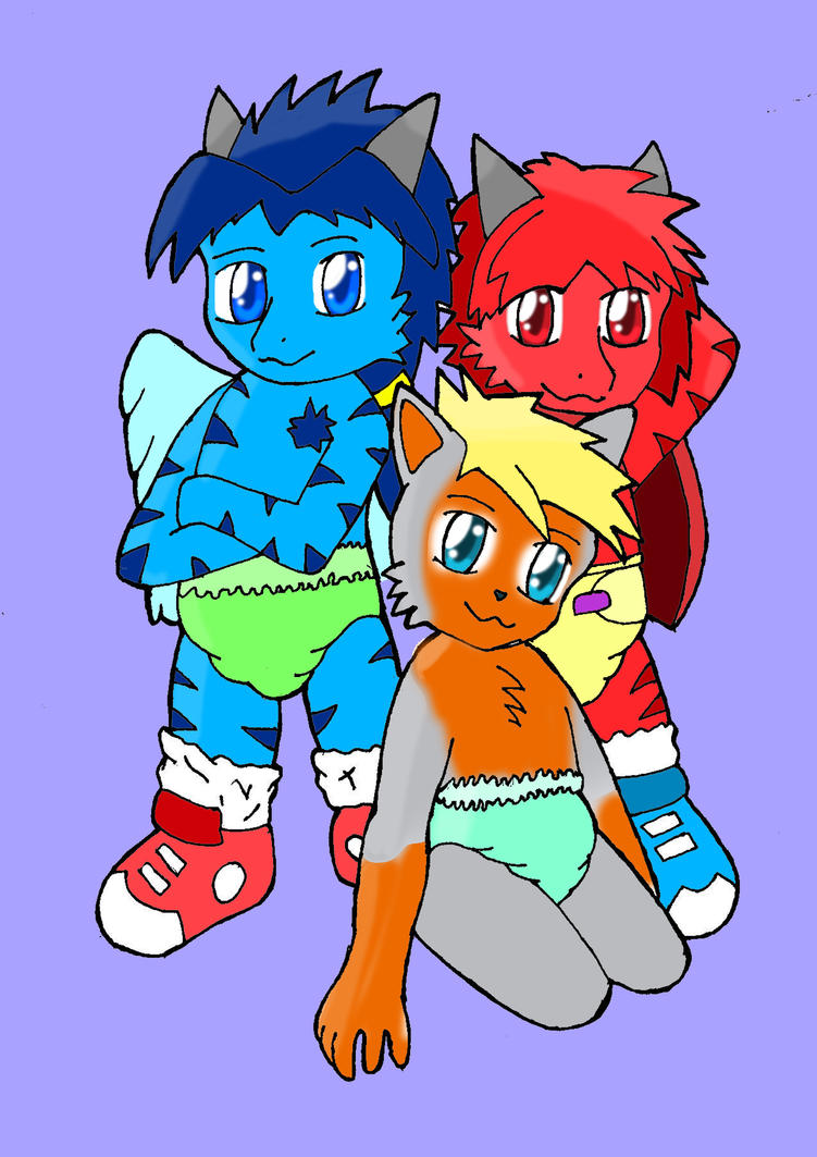 The Diaper Brothers by Zanten94