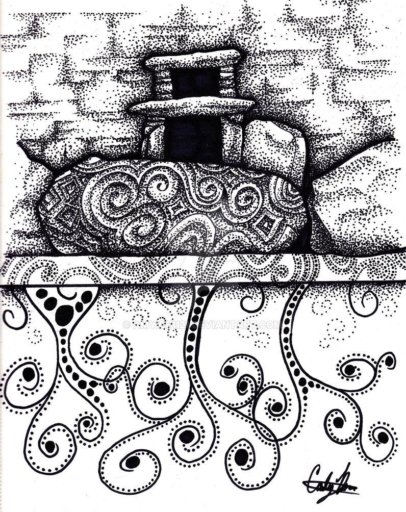 Newgrange by Amyice1121