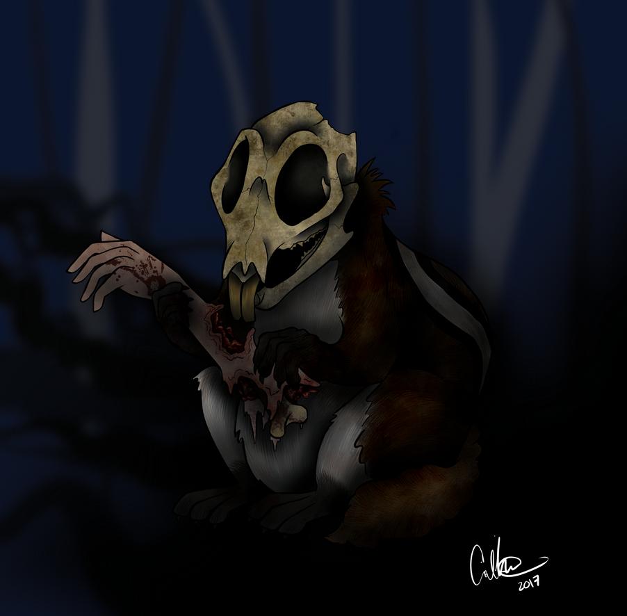 Demon Chipmunk by Amyice1121