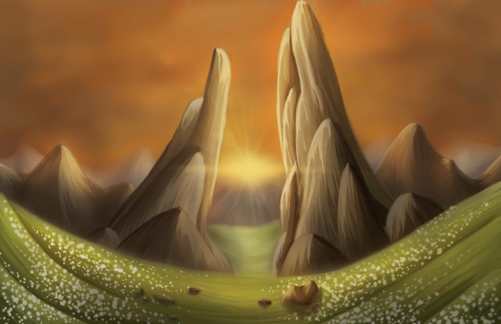 Sunset Pass by Amyice1121