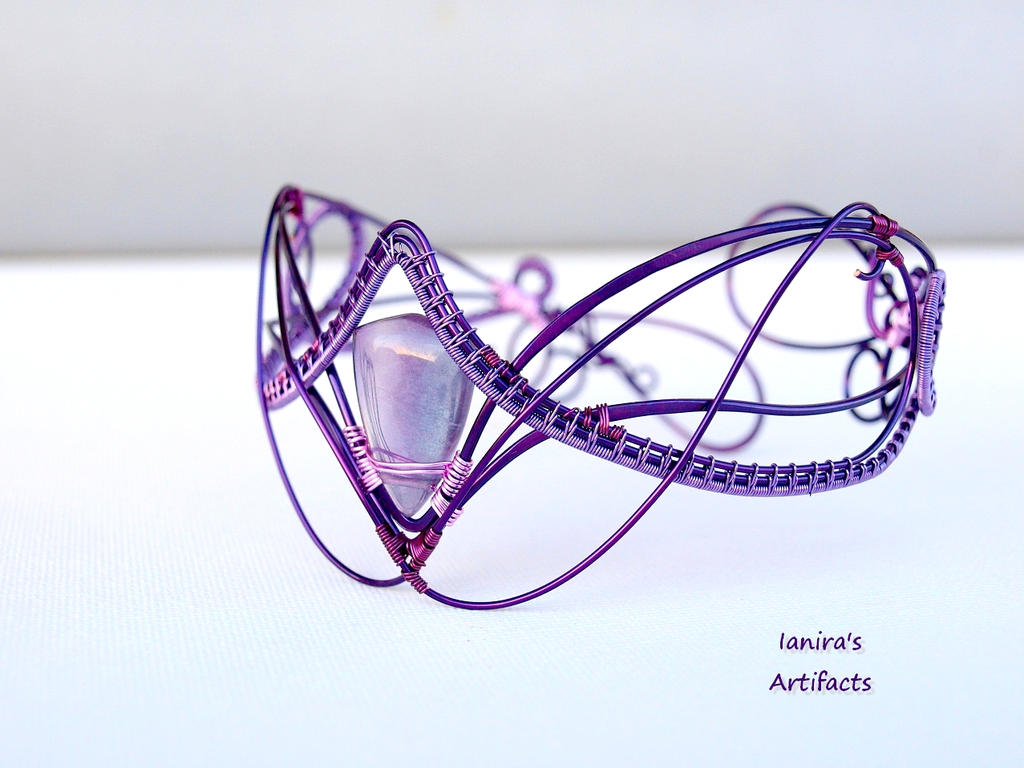 Fairy Wire wrapped arm bracelet by IanirasArtifacts