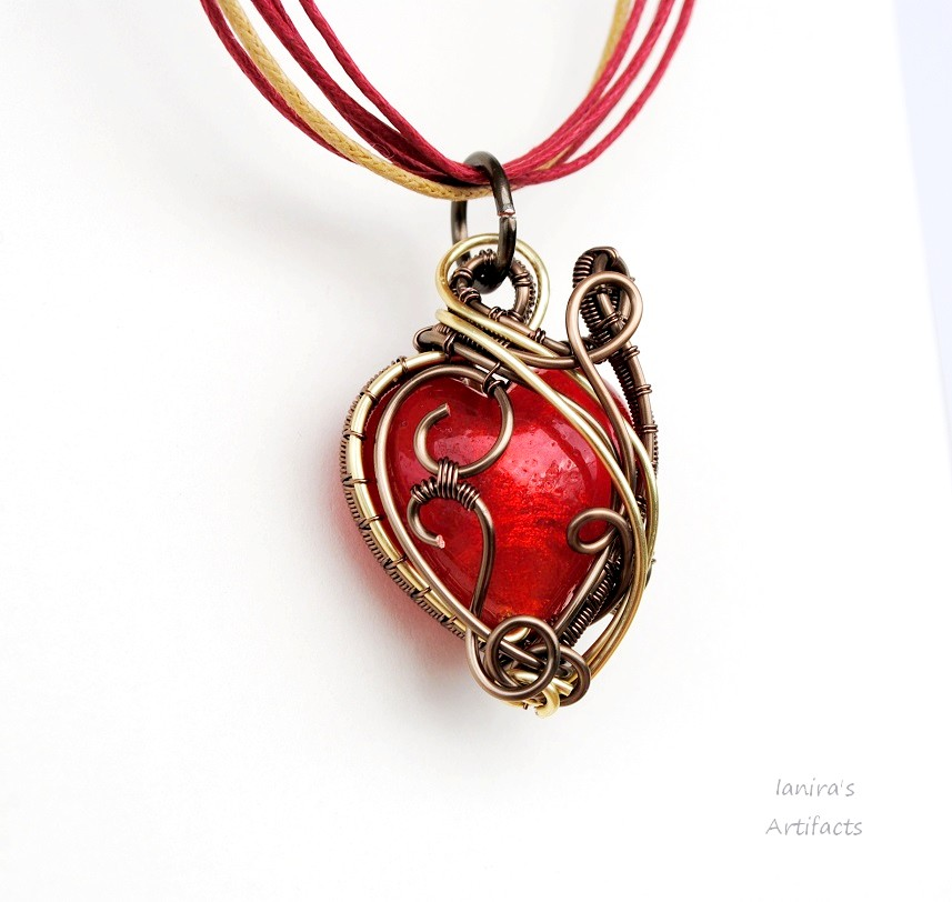 Dragon's Heart pendant by IanirasArtifacts