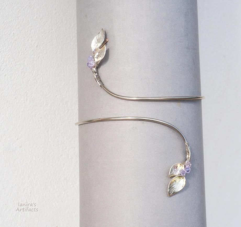 Lillies bridal armlet by IanirasArtifacts