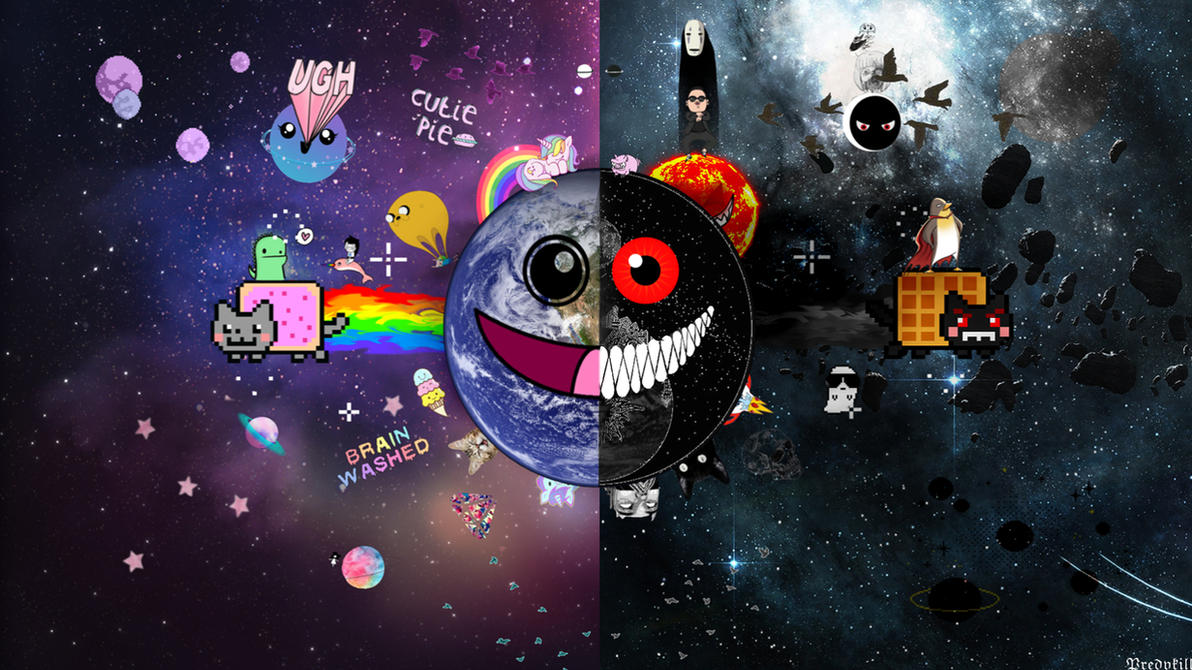Nyan Cat Wallpaper By Predvkill On DeviantArt