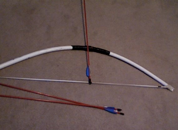 improvised weaponry bows part ii pvc bows by ming