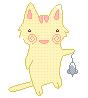 cutout cat by snut