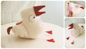 small flightless bird plush by snut