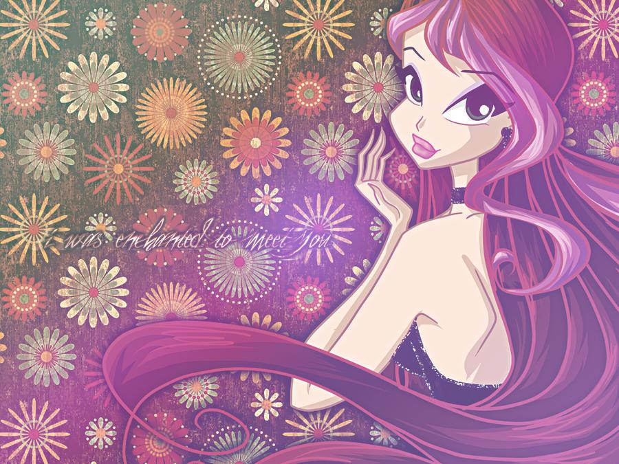 CM - Techina Ball Gown Wallpaper by winxyarianna