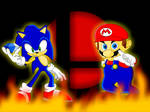 Mario and Sonic Background