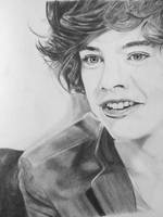 Harry Styles drawing by littlebird25