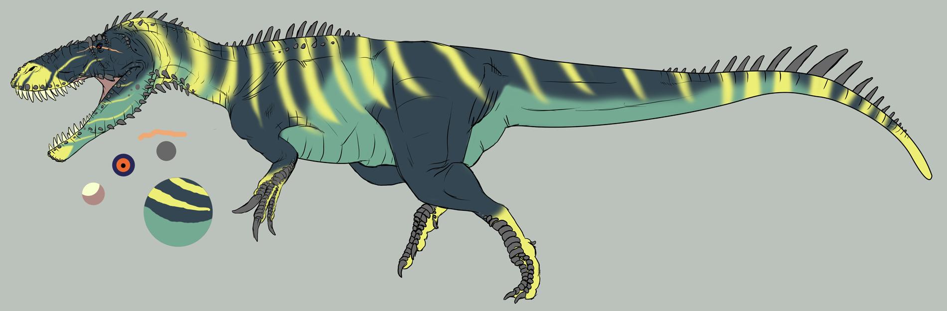 Torvosaurus tanneri by dipstikk