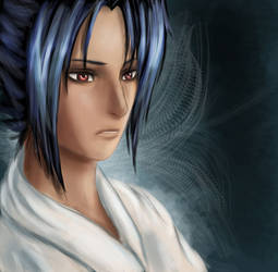 Sasuke Speedpaint by Sodalith