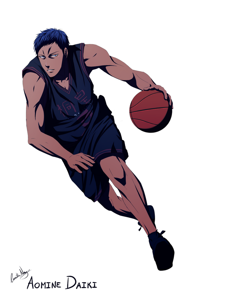 aomine daiki by naesagern on deviantart