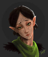 Merrill the Kitten by Naesagern
