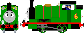 Percy the Small Engine by JediRhydon