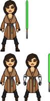 Jedi Padawan/Commander Britt Winnwale