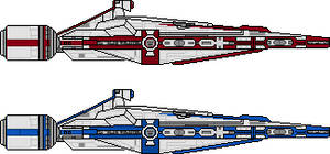 Jedi Light Cruiser Koln