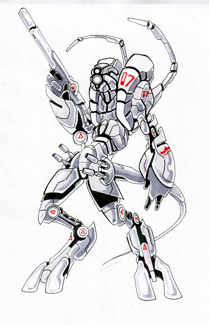 S.H.O.GUN SNIPER by SIGbot