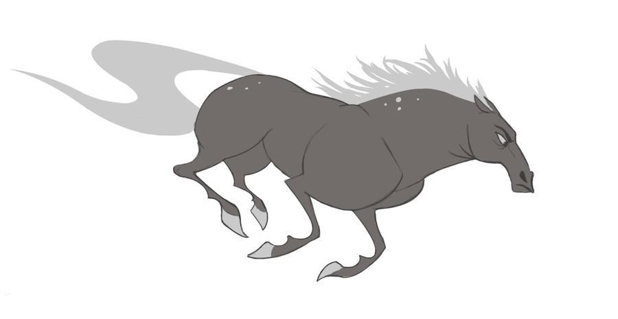 mulan horse by karurie on deviantart