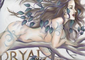 Dryad by Monelun