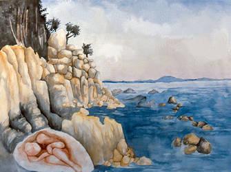 Embryo Sea by Monelun
