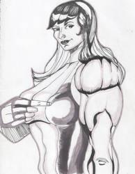 She Hulk Tri Flex by Puretip
