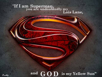 Superman Yellow Sun by Puretip