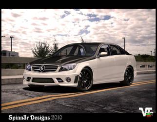 Mercedes Benz C63 by SpinnerBG
