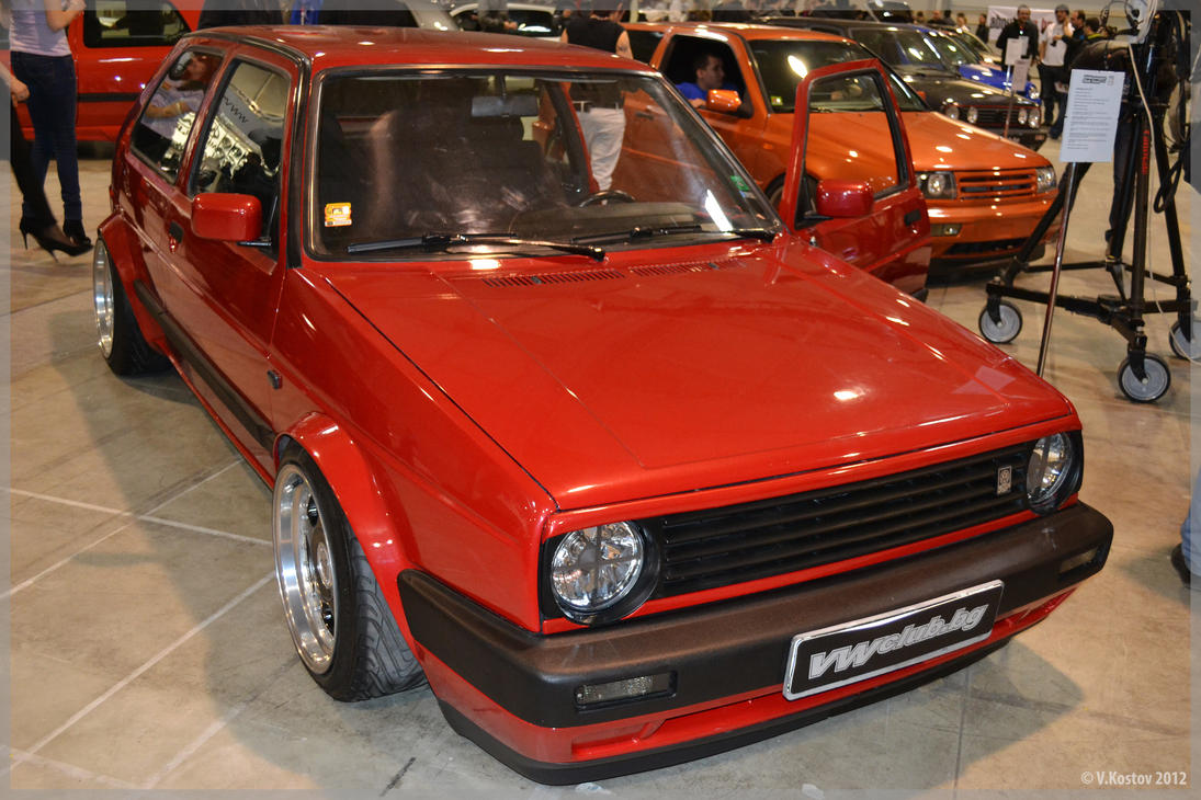 Vw golf 2 4 by spinnerbg