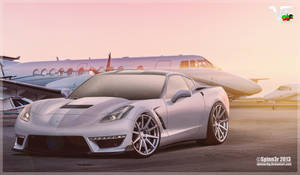 2014 'Vette C7 on ADV.1 Wheels by Spinn3r~ by SpinnerBG