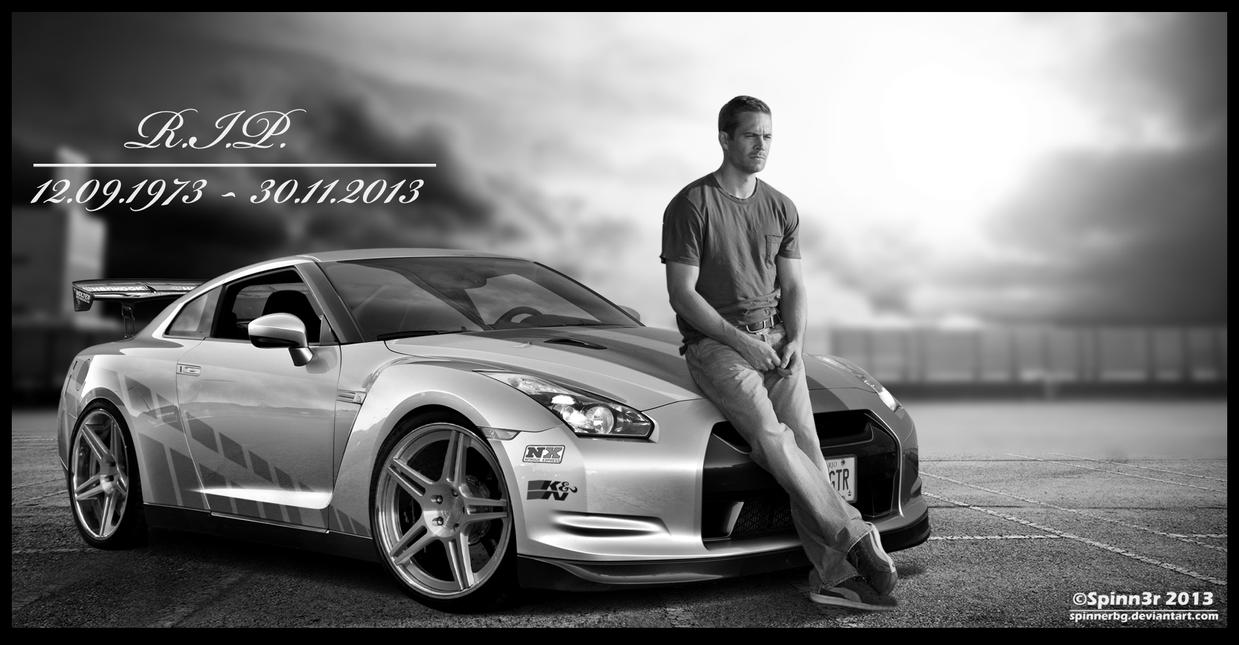 RIP Paul Walker By SpinnerBG