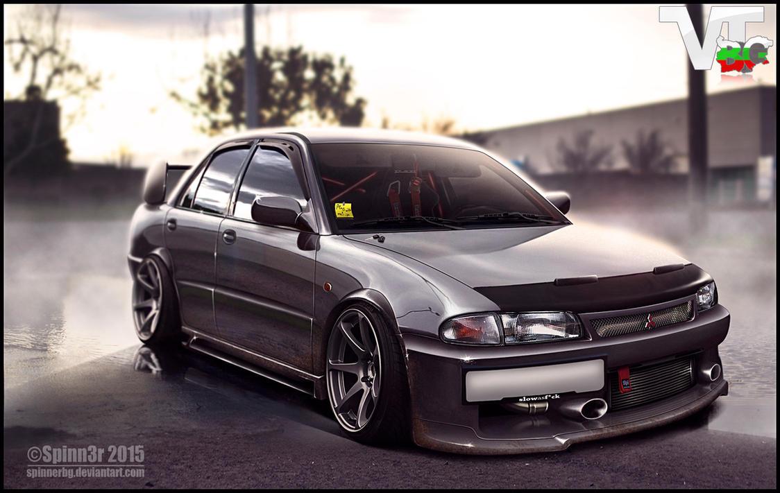 Mitsubishi Evo GSR ~ by SpinnerBG