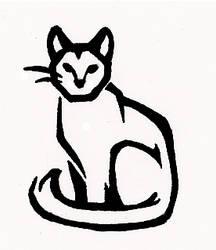 Commission: Stylized Cat