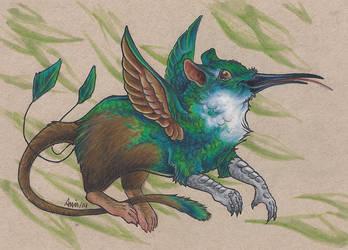 Humming bird gryphon