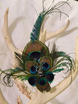 Extravagant Peacock Ring