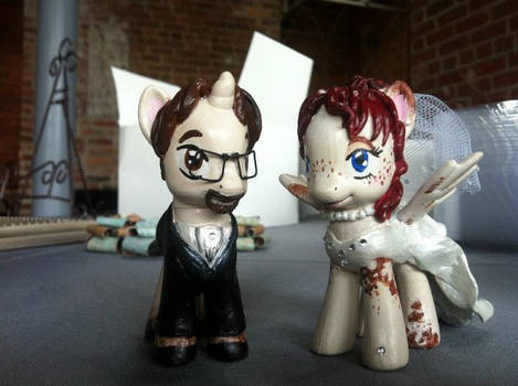 My My Little Pony Wedding Cake Toppers