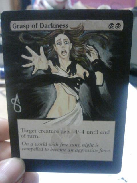 Grasp of Darkness by AlteRedSynne