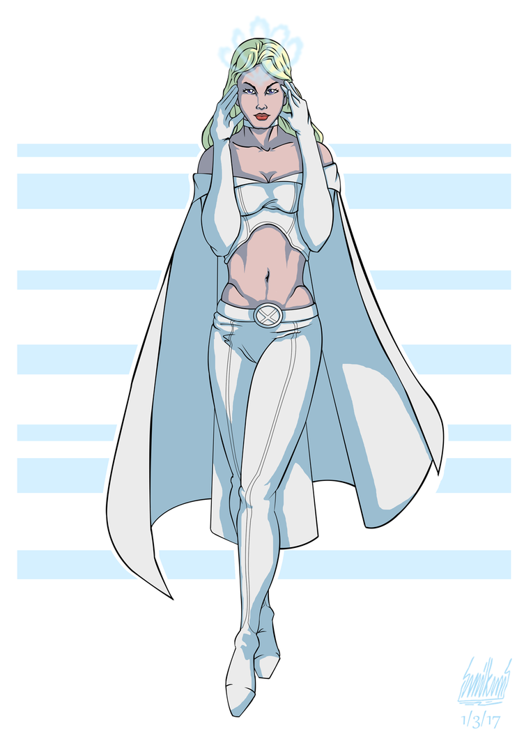 March 1, Emma Frost by Alessadr