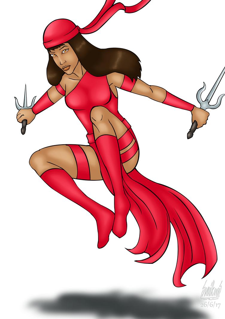 June 26, Elektra Natchios by Alessadr