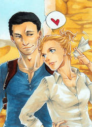 Uncharted 3 - This way by Masayoshi220