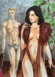 Dragon Age Inquisition - Cullen x Custom Inqusitor by Masayoshi220