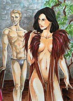 Dragon Age Inquisition - Cullen x Custom Inqusitor