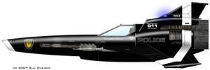 Viper Mk II - Caprica Police