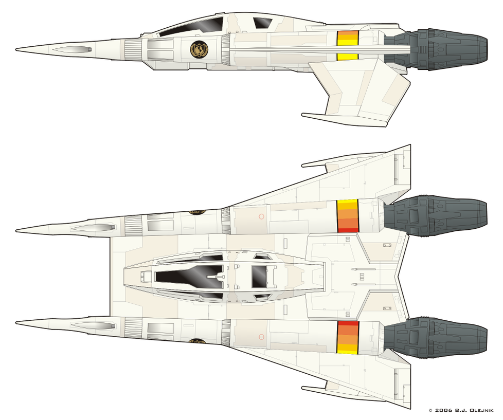 Buck Rogers' Starfighter by BJ-O23