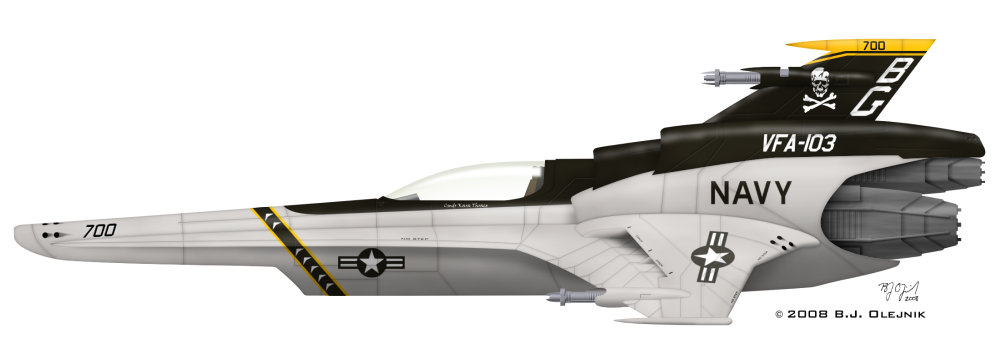 Viper Mk VII - VFA-103 by BJ-O23